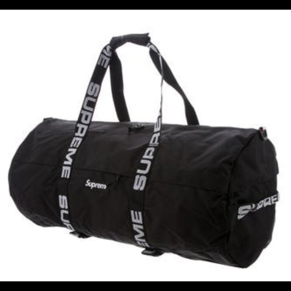 Supreme Large Duffle Bag Black Cordura Sold Out
